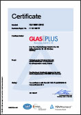 Certificate ISO 9001 - 2008